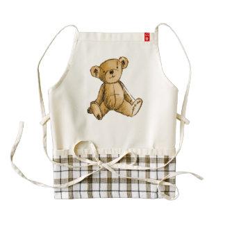 Teddy Bear image for Zazzle-HEART-Apron Zazzle HEART Apron