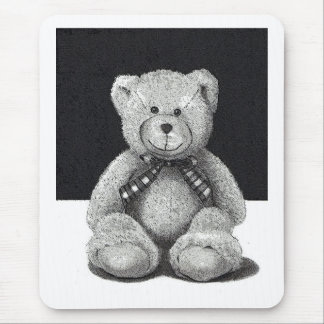 Teddy Bear in Pencil Mouse Pad
