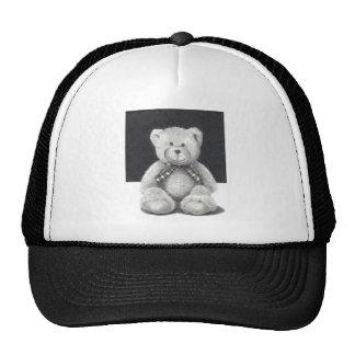 Teddy Bear in Pencil Trucker Hat