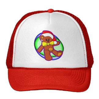 Teddy Bear In Santa Hat