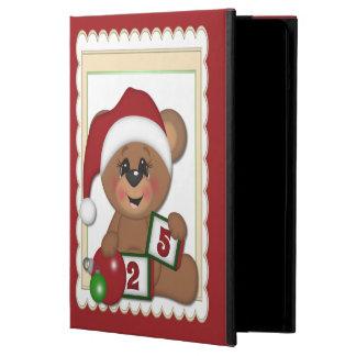 Teddy Bear in Santa Hat iPad Air Case