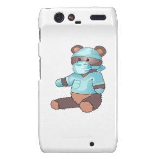 TEDDY BEAR IN SCRUBS DROID RAZR COVER