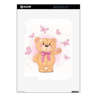 teddy bear iPad 2 decals