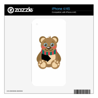 Teddy Bear iPhone 4S Decal