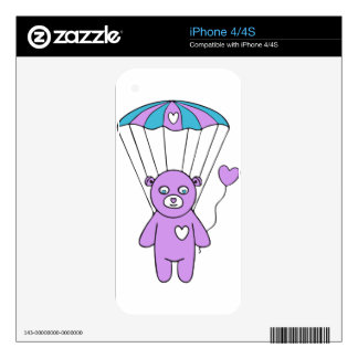 Teddy bear iPhone 4S decals