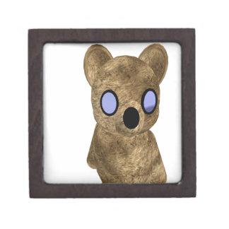 Teddy bear jewelry box