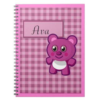 Teddy Bear Kawaii Notebook