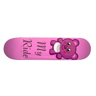 Teddy Bear Kawaii Skateboard