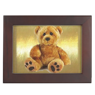 Teddy Bear Keepsake Box