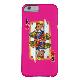 Teddy Bear King of Hearts iPhone 6 Case
