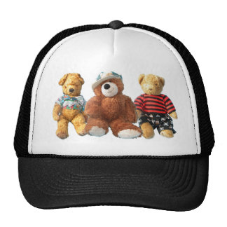 Teddy Bear - Krumble Oliver and Tompey Trucker Hat
