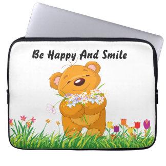 Teddy Bear Laptop Sleeves