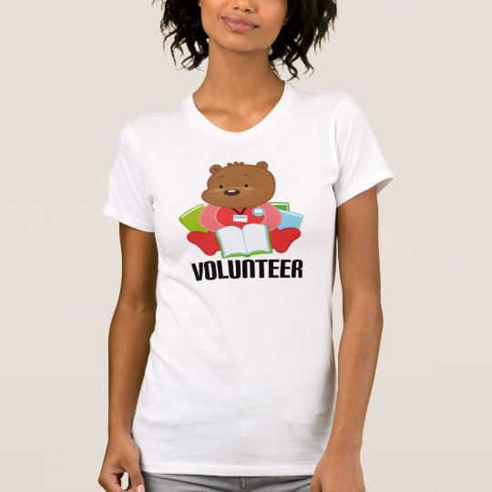 Teddy Bear Library Volunteer Gift T-Shirt
