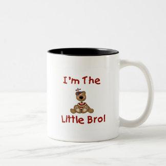 Teddy Bear Little Bro Tshirts and Gifts Two-Tone Coffee Mug