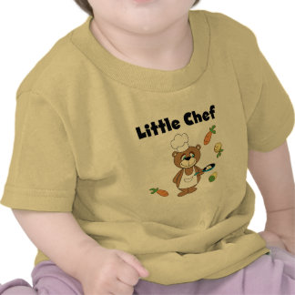Teddy Bear Little Chef Tshirts and Gifts