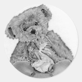 Teddy Bear Little Fairy Sticker