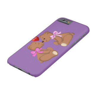 Teddy Bear Love Barely There iPhone 6 Case