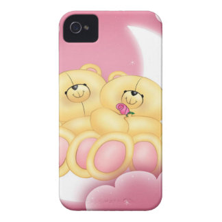Teddy Bear Love iPhone 4 Case-Mate Cases