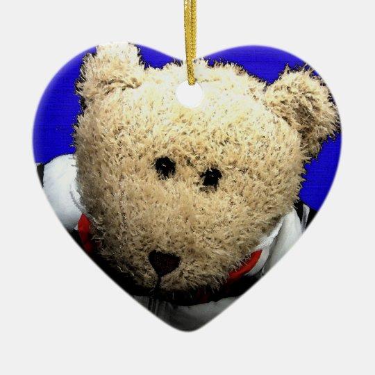 Teddy Bear Love Christmas Ornament