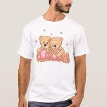 TEDDY BEAR LOVE COUPLE T-Shirt