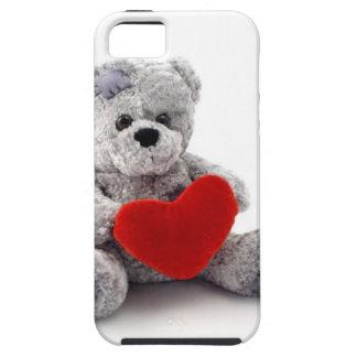 TEDDY BEAR LOVE HEART iPhone SE/5/5s CASE