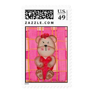 TEDDY BEAR LOVE Postage