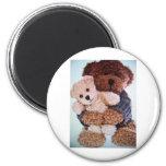 teddy bear love refrigerator magnets