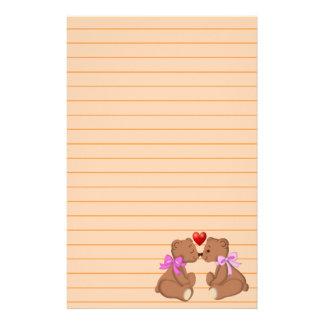 Teddy Bear Love Stationery
