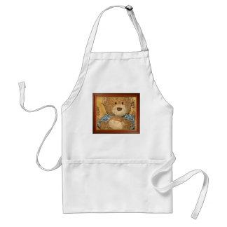 Teddy Bear - Mary O Adult Apron