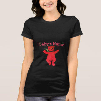 Teddy Bear Maternity by Leslie Harlow T Shirts