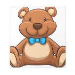 Teddy bear memo pads