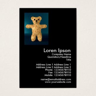 Teddy Bear Mini Photo Business Card