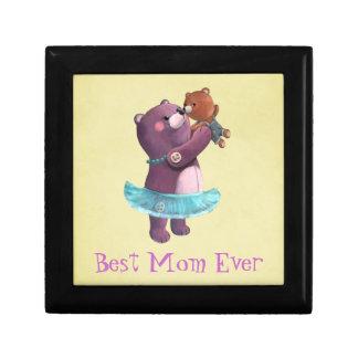 Teddy Bear Mother Jewelry Box