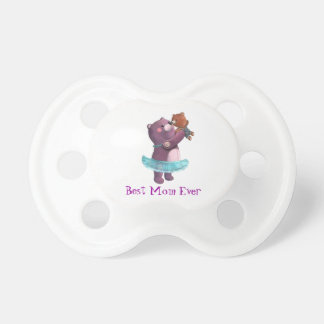 Teddy Bear Mother Baby Pacifier