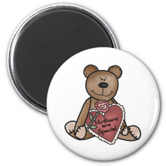 Teddy Bear Mothers Are Special 2 Inch Round Magnet
