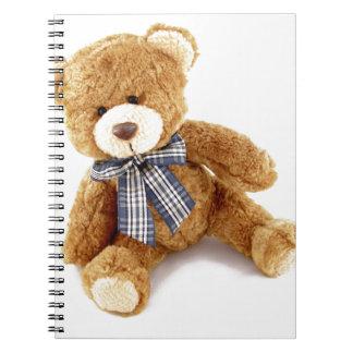 Teddy Bear Spiral Notebook