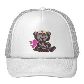Teddy Bear Nurse (Pink) Trucker Hat