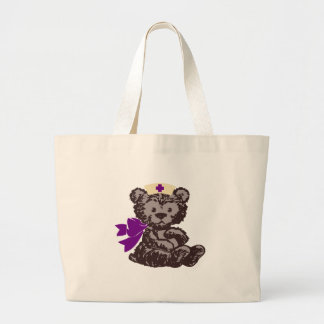 Teddy Bear Nurse (Purple) Bags