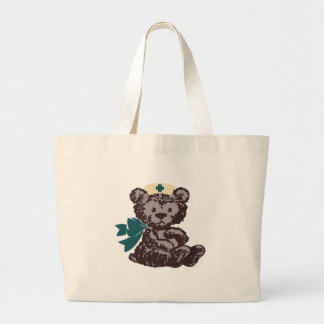Teddy Bear Nurse (Teal) Bags