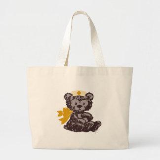 Teddy Bear Nurse (Yellow) Canvas Bag