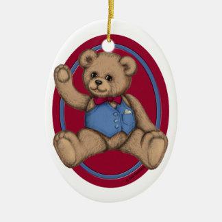 Teddy Bear Ornament Ornament
