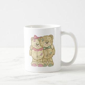 Teddy Bear Pair - Original Colors Mugs