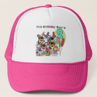 Teddy Bear Party 2nd Birthday T-shirts and Gifts Trucker Hat