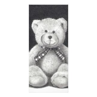 TEDDY BEAR: PENCIL ART: REALISM RACK CARD