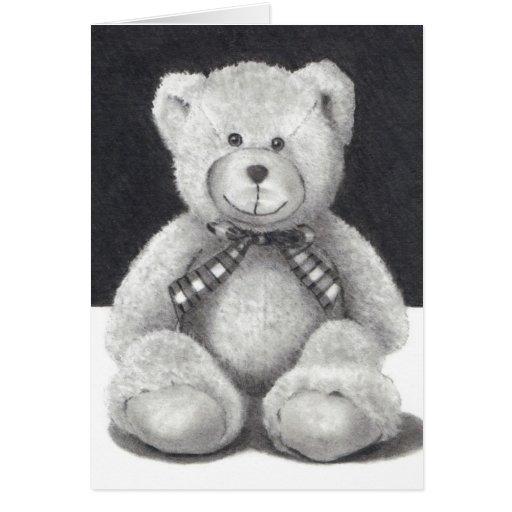 Teddy Bear, Pencil Drawing: Big BEAR HUG For You Greeting ...