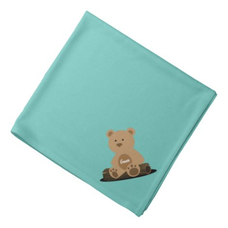 Teddy Bear Personalized Bandana