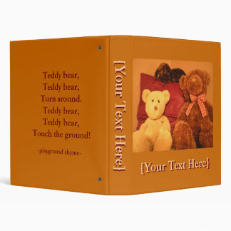 Teddy Bear Photo Album Binder