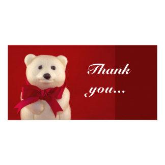 Teddy Bear Photo Card