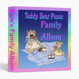 Teddy Bear Picnic Binder