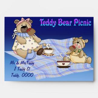 Teddy Bear Picnic Envelope